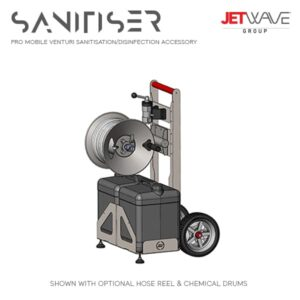 Jetwave Pro Mobile Venturi Sanitisation Trolley