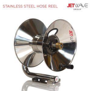 Jetwave Stainless Steel Hose Reel (60 metres)